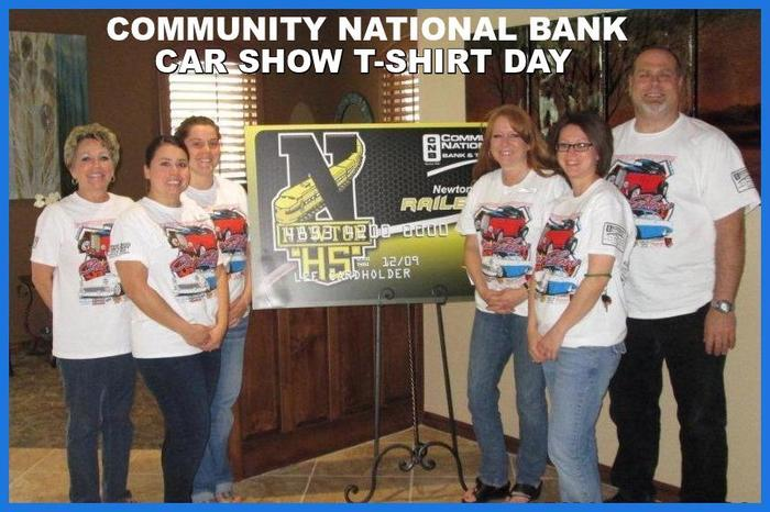COMMUNITY NATIONAL BANK T-SHIRT DAY