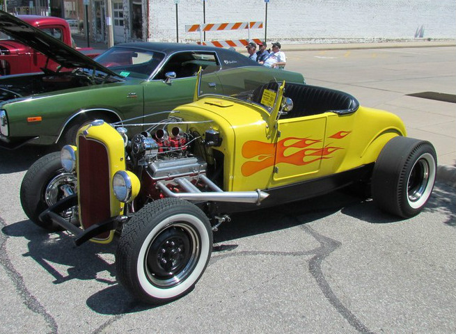COOL YELLOW ROD
